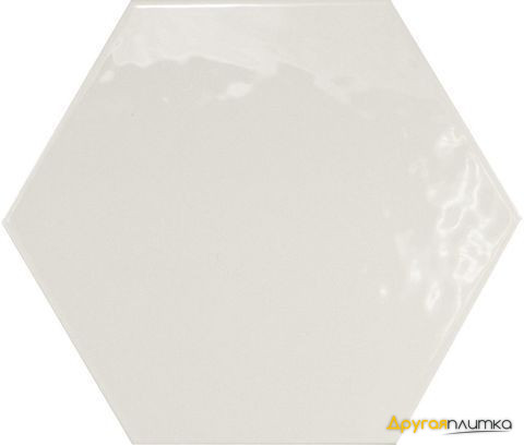Hexatile Blanco Brillo 17.5*20