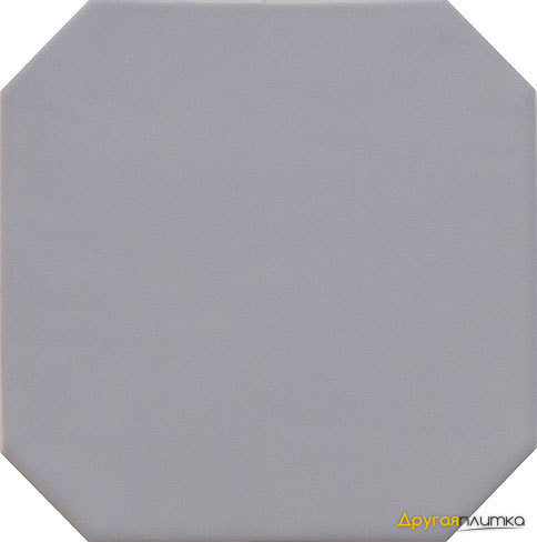 Octagon Gris Mate 20*20